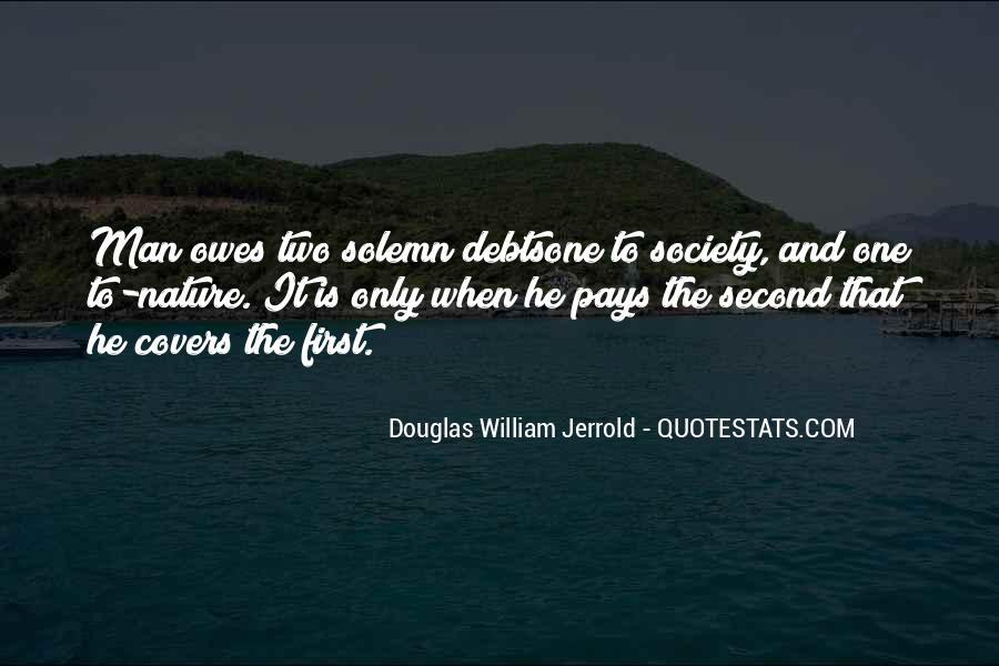 Quotes About Debts #292329