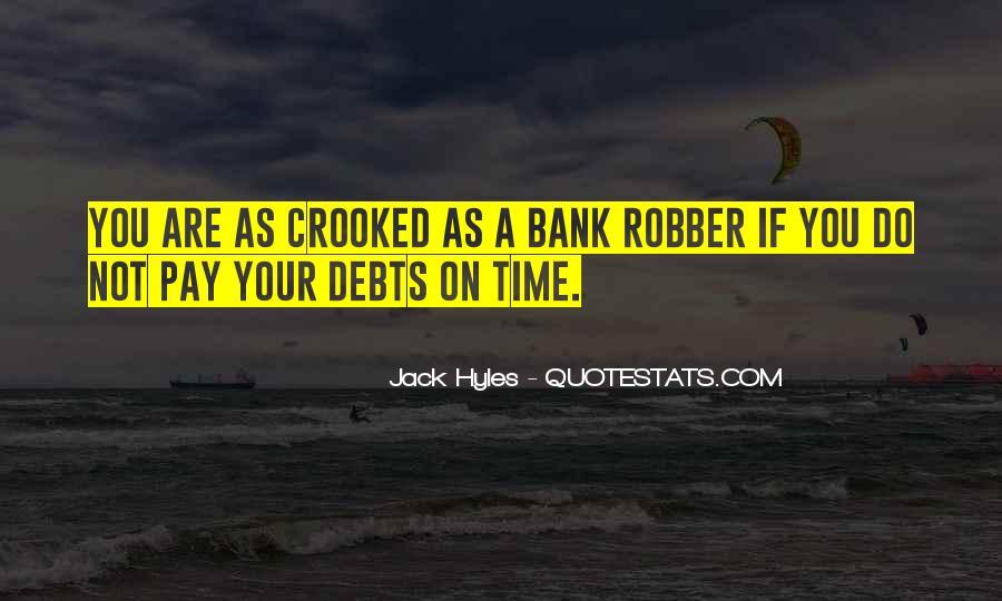 Quotes About Debts #328408