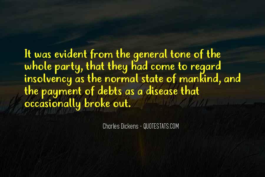 Quotes About Debts #343520