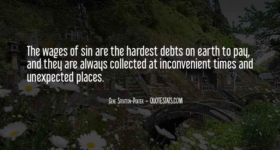 Quotes About Debts #345377