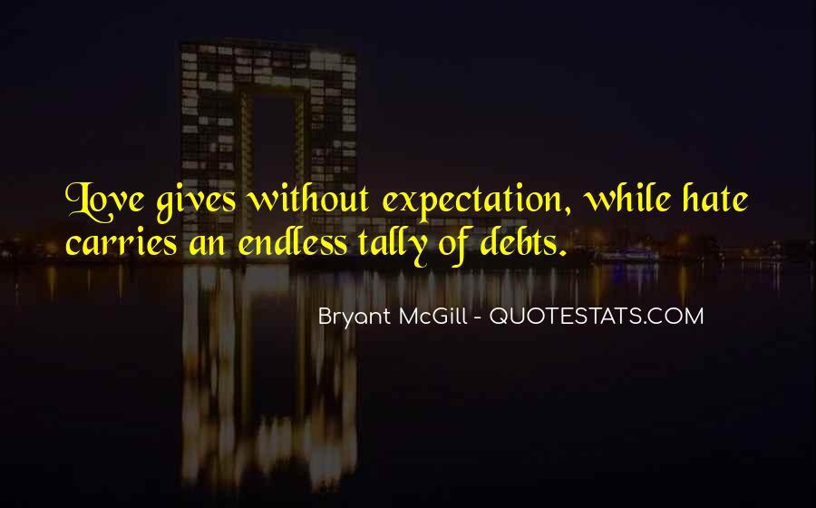 Quotes About Debts #350066