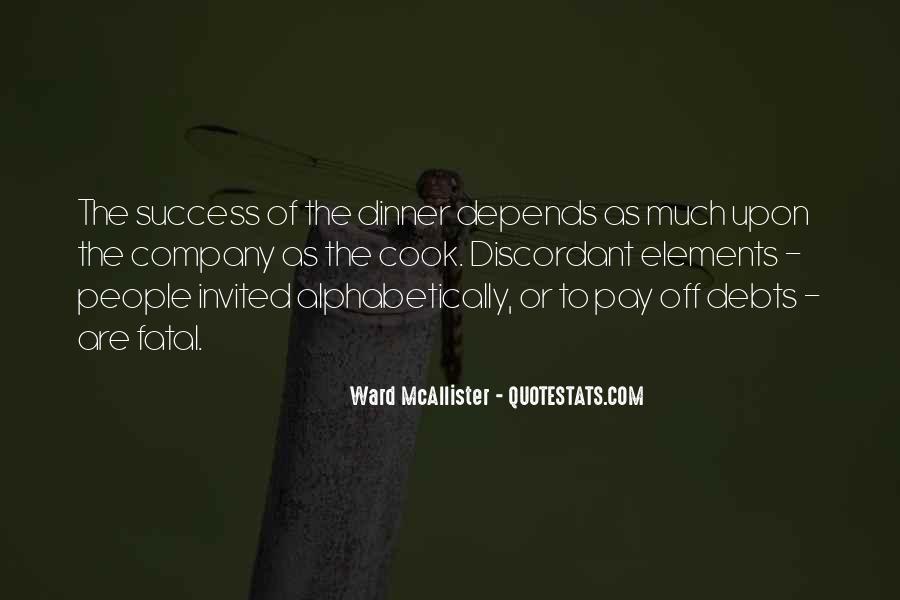 Quotes About Debts #434401