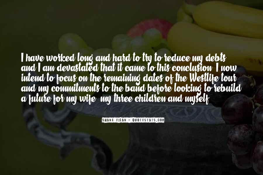 Quotes About Debts #441161
