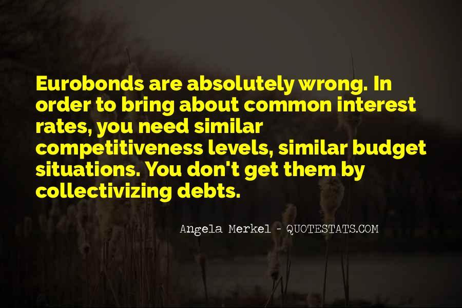 Quotes About Debts #468062