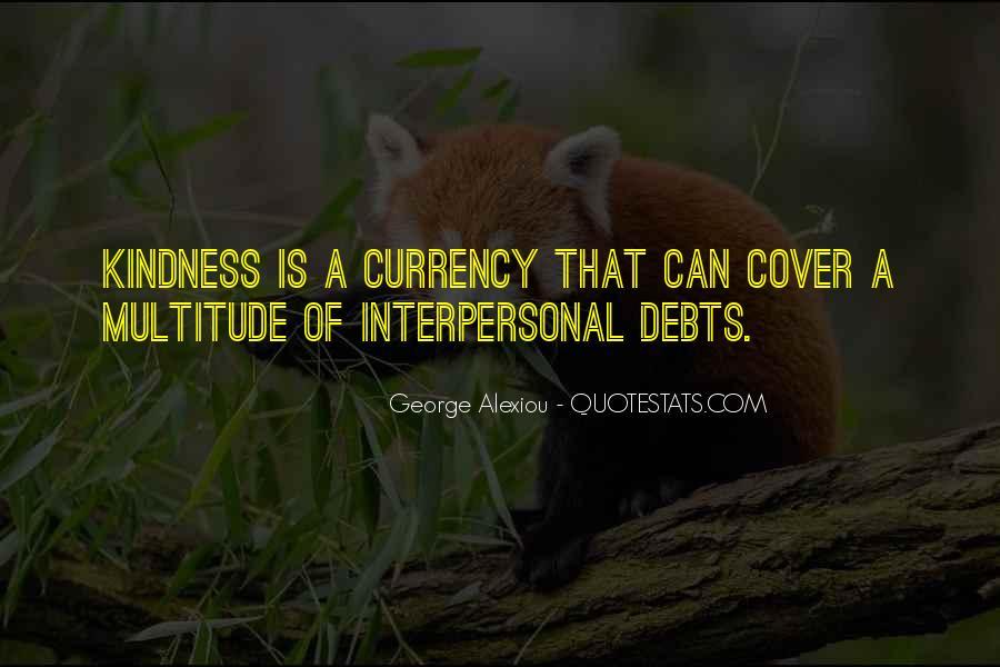Quotes About Debts #499178
