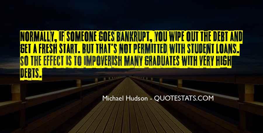 Quotes About Debts #531336