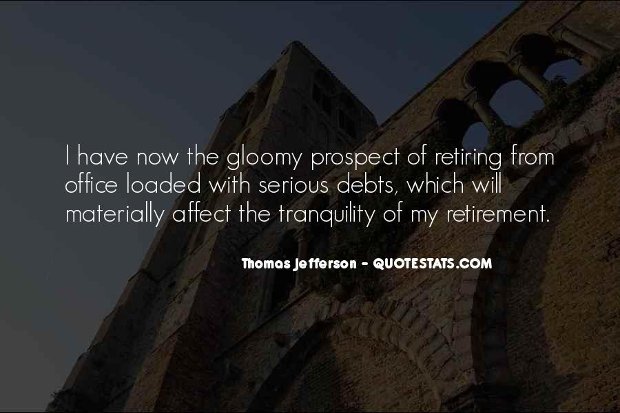 Quotes About Debts #651221