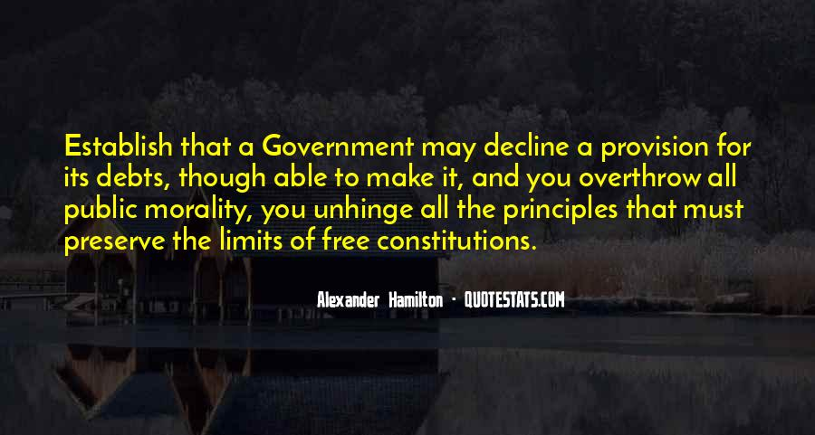 Quotes About Debts #677912