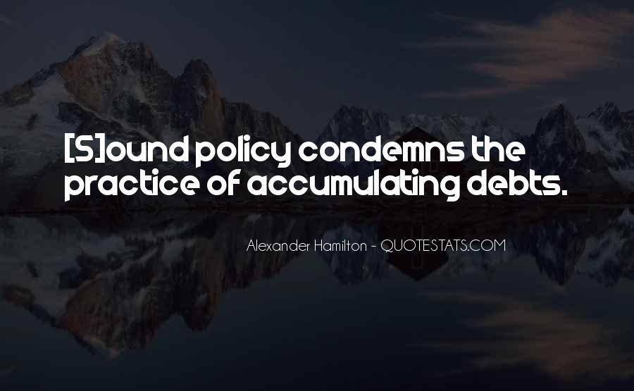 Quotes About Debts #67913