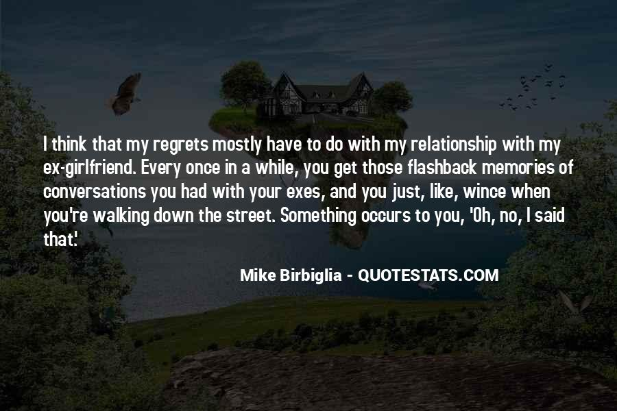 Quotes About Flashback Memories #381685