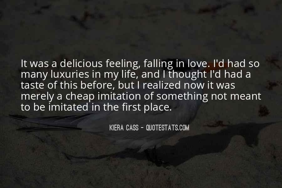 Quotes About Things Falling Into Place #157914