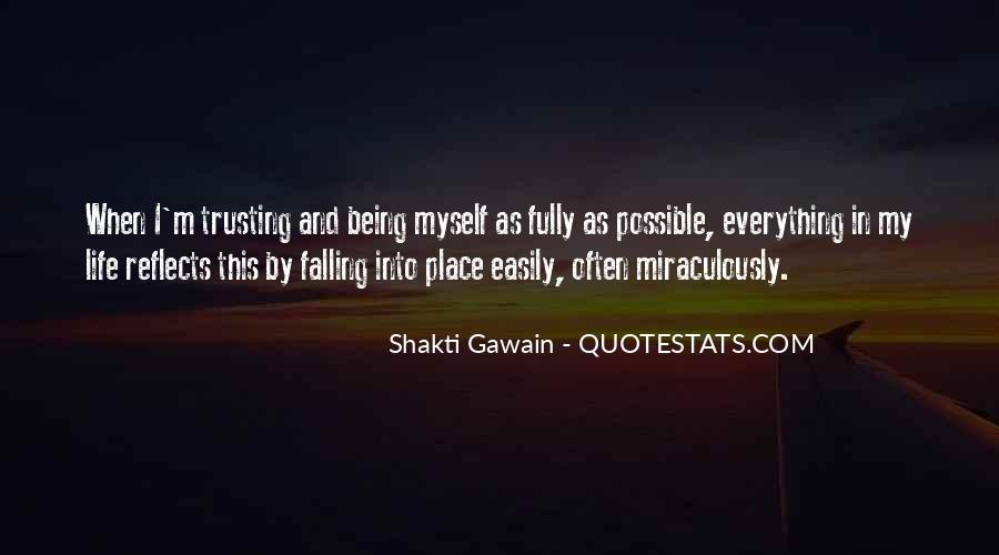 Quotes About Things Falling Into Place #689940