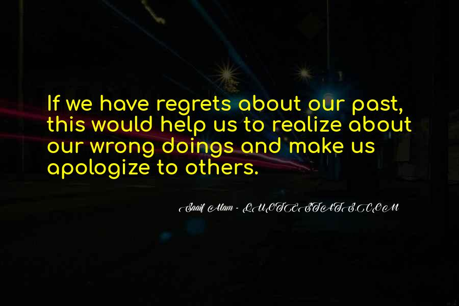 Quotes About Wrong Doings #1042674