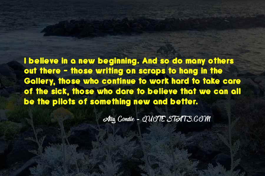 Quotes About New Beginning At Work #910208