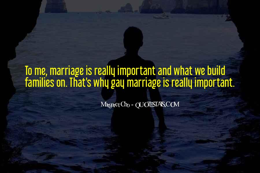 Quotes About Families And Marriage #1099193