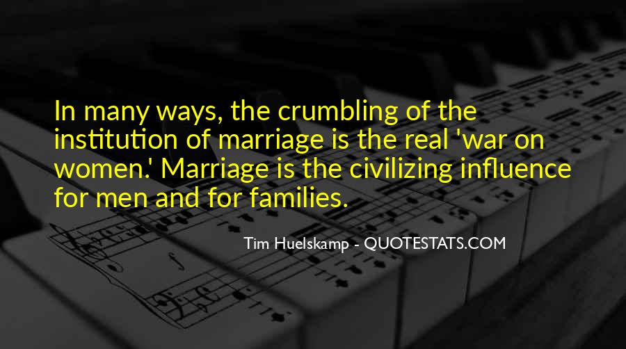 Quotes About Families And Marriage #1280833
