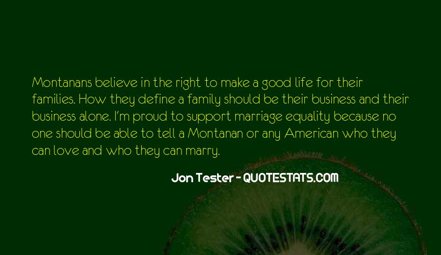 Quotes About Families And Marriage #1294157