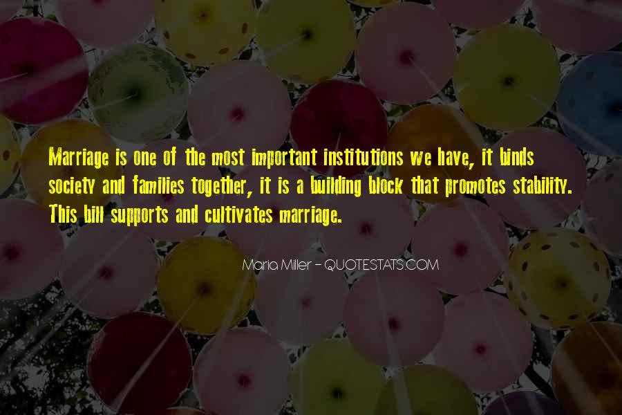 Quotes About Families And Marriage #1391407