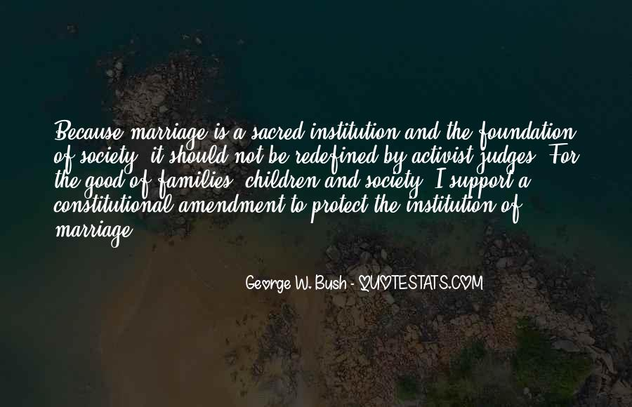Quotes About Families And Marriage #1398994