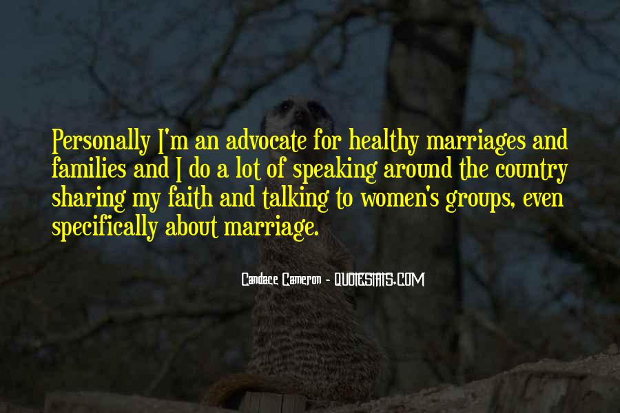 Quotes About Families And Marriage #1873861