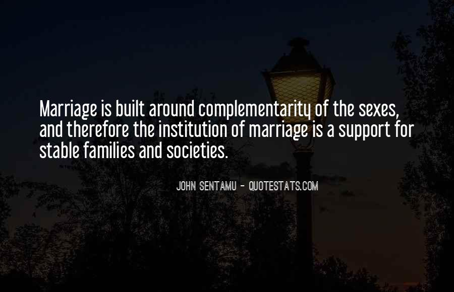 Quotes About Families And Marriage #1877746
