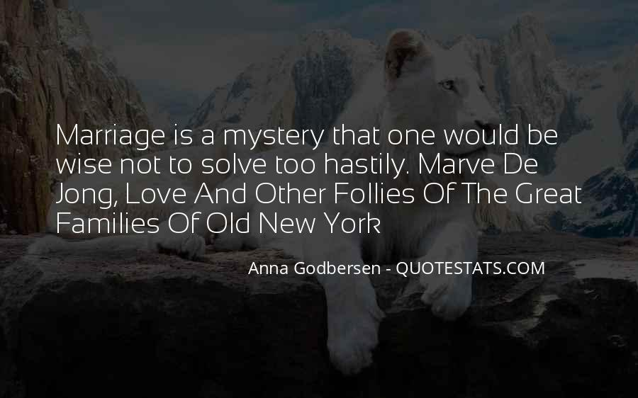 Quotes About Families And Marriage #260392