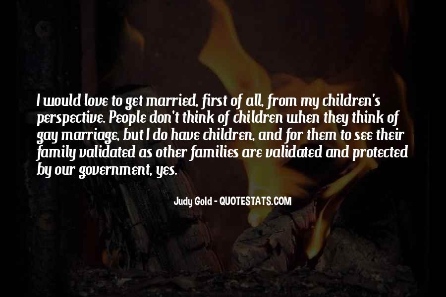 Quotes About Families And Marriage #347670