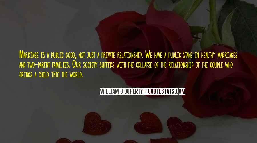 Quotes About Families And Marriage #869521