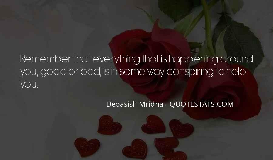 Quotes About Bad Things Happening For A Reason #409174