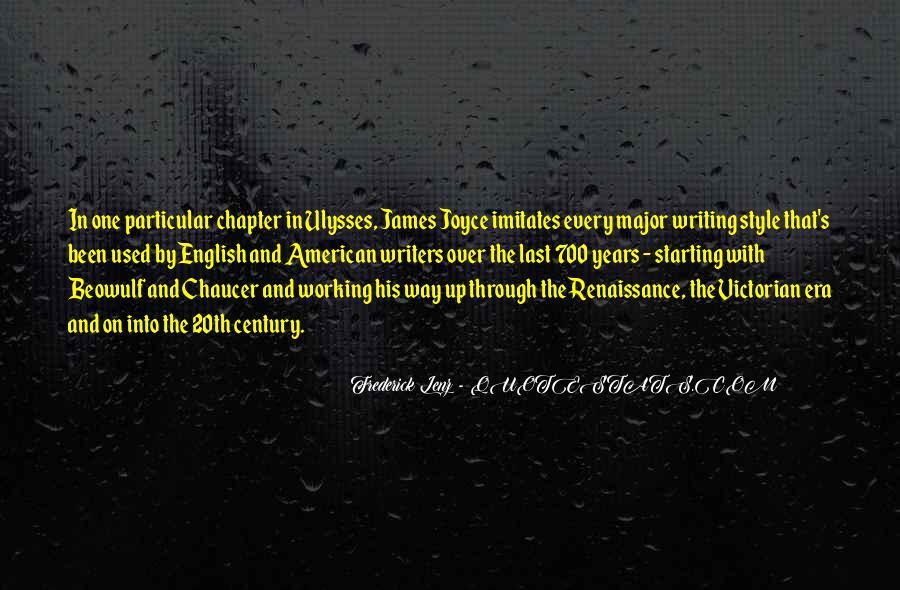 Quotes About Renaissance Style #167060