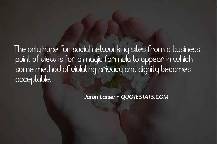 Quotes About Networking Sites #1581564