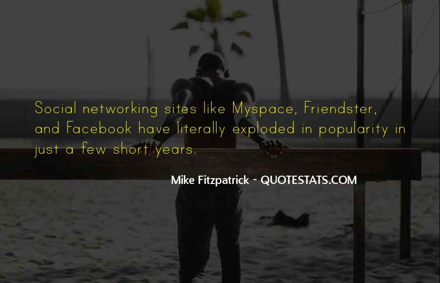 Quotes About Networking Sites #914787