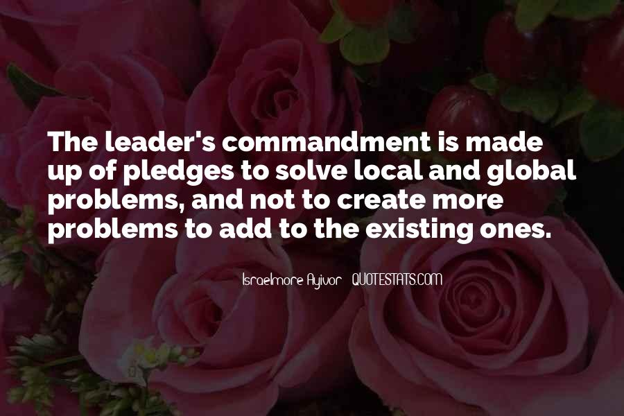 Quotes About Thought Leadership #116352