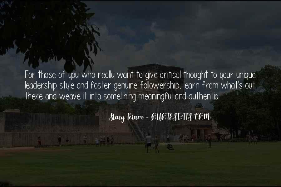 Quotes About Thought Leadership #316874