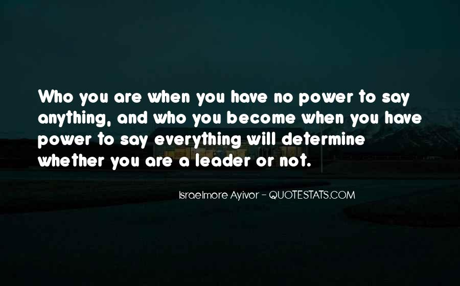 Quotes About Thought Leadership #353082