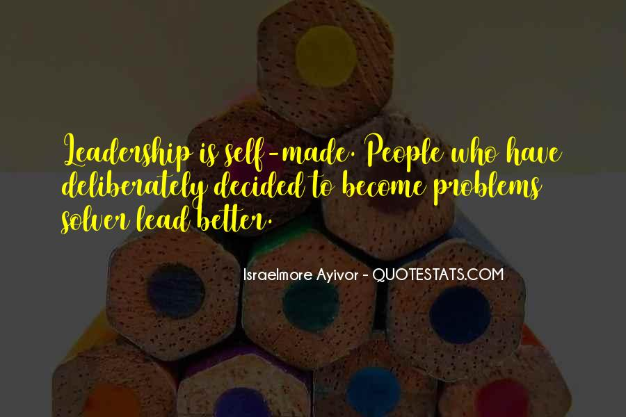 Quotes About Thought Leadership #437385