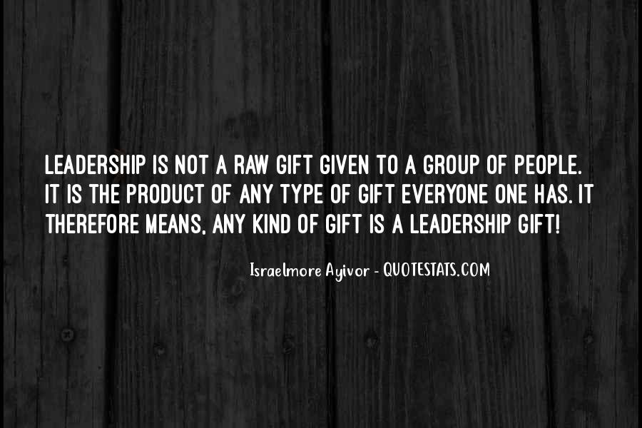 Quotes About Thought Leadership #464412