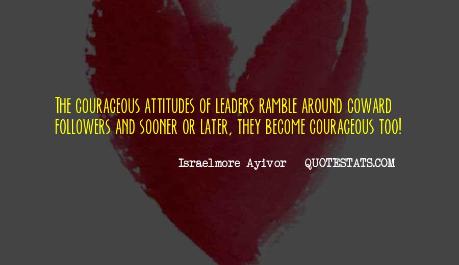 Quotes About Thought Leadership #486793