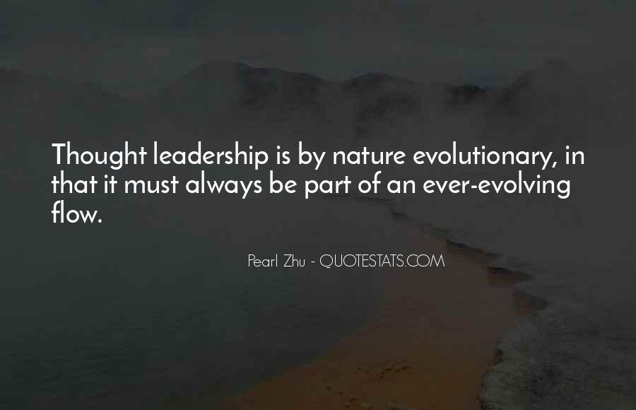 Quotes About Thought Leadership #728906