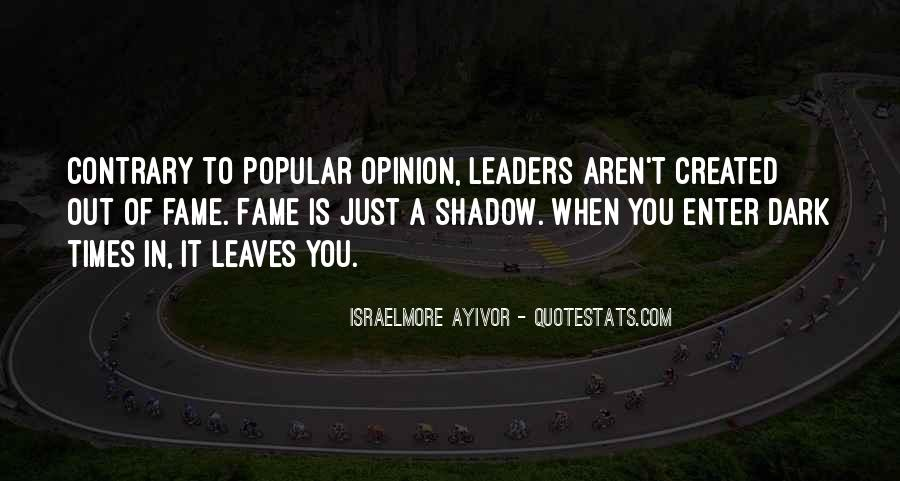 Quotes About Thought Leadership #855108