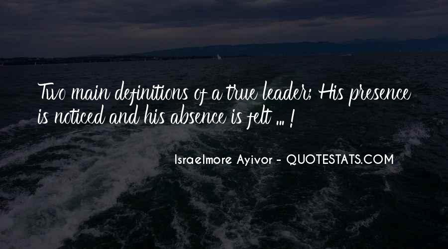 Quotes About Thought Leadership #874532