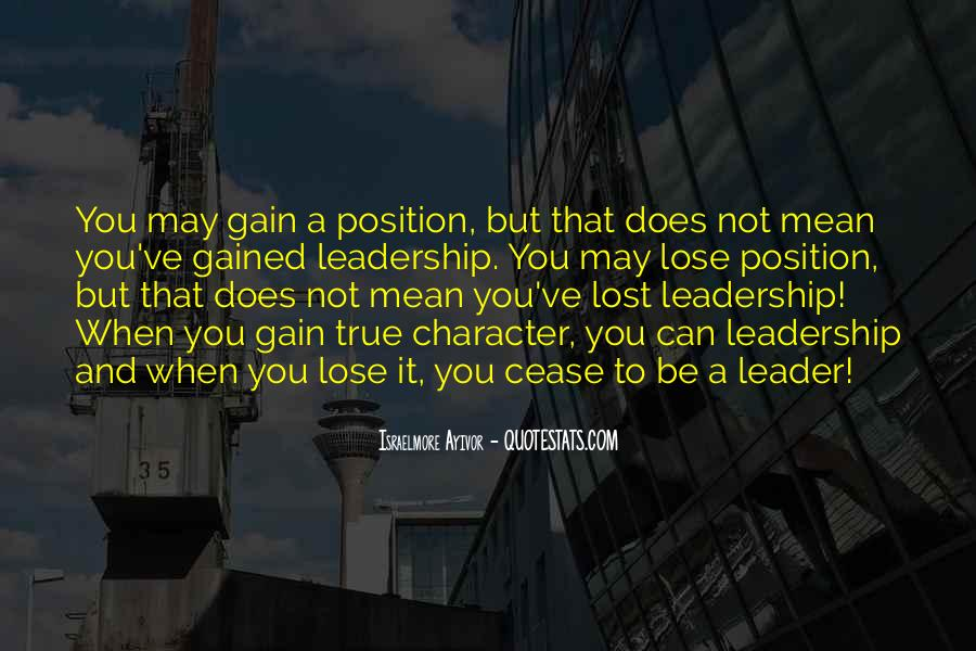 Quotes About Thought Leadership #883321