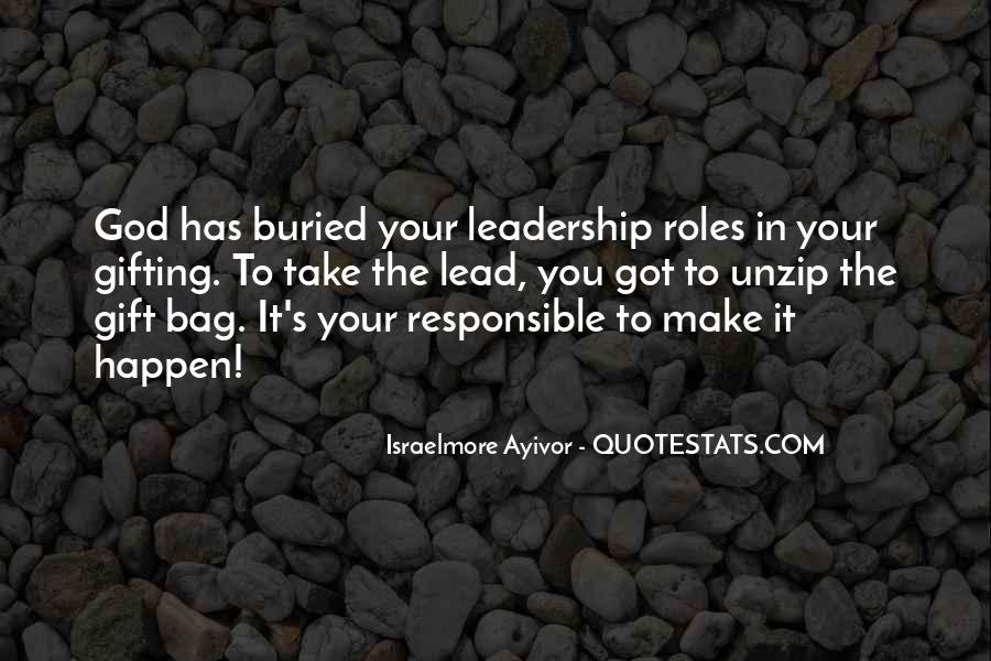Quotes About Thought Leadership #888750