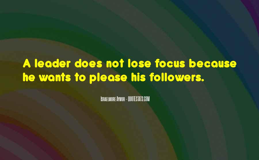 Quotes About Thought Leadership #935789