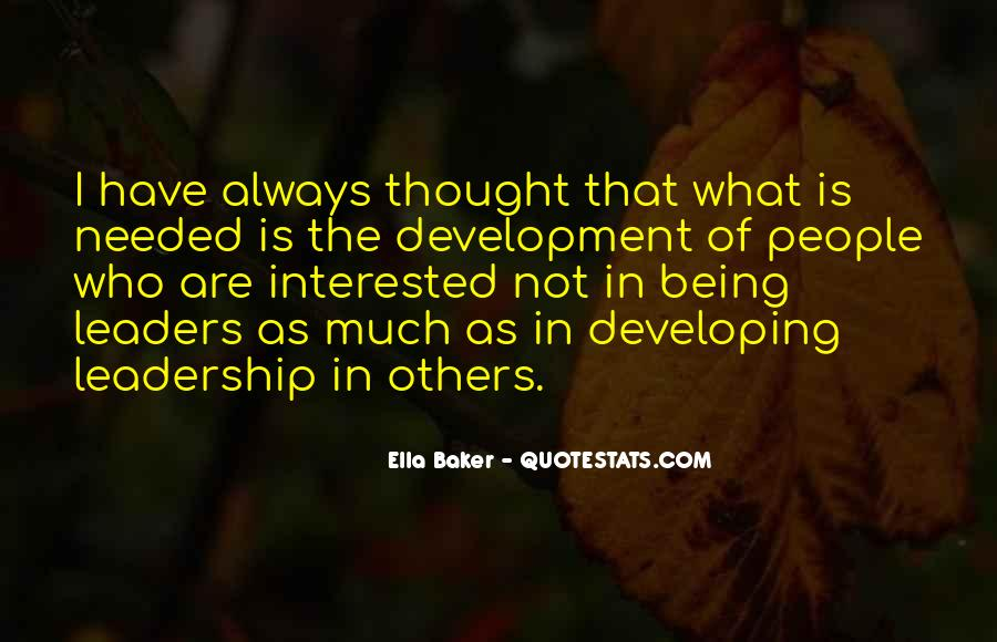Quotes About Thought Leadership #953187