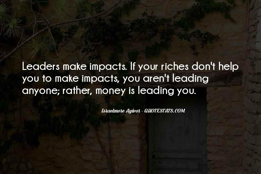 Quotes About Thought Leadership #998204
