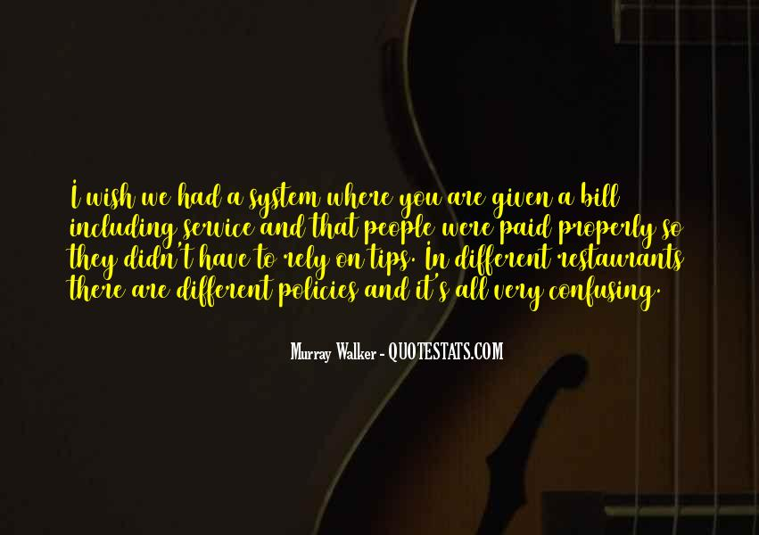 Quotes About We Are Different #108311