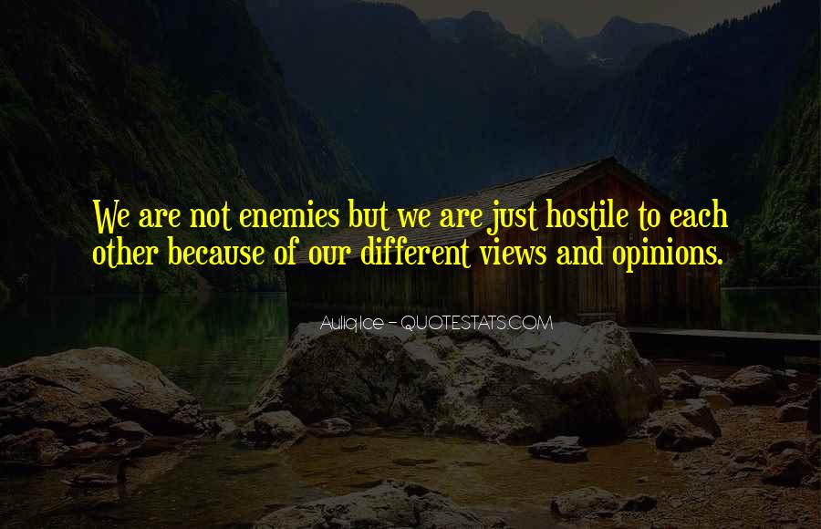 Quotes About We Are Different #113379