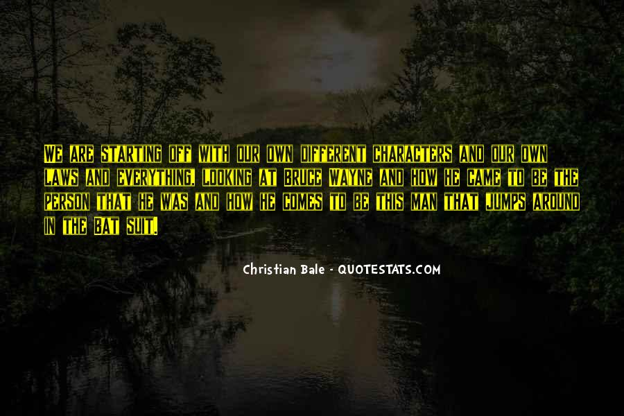 Quotes About We Are Different #127347