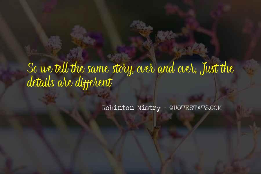 Quotes About We Are Different #136337